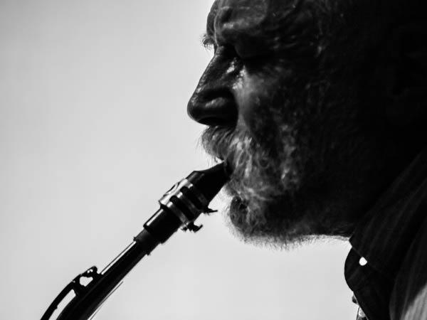 Peter Brötzmann by Peter Gannushkin