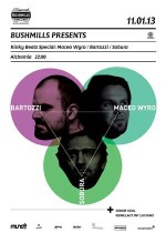 Bushmills presents: Kinky Beats Special with Maceo Wyro | Sobura | Bartozzi