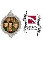 Quadro Susanna & Angela Gaber Trio