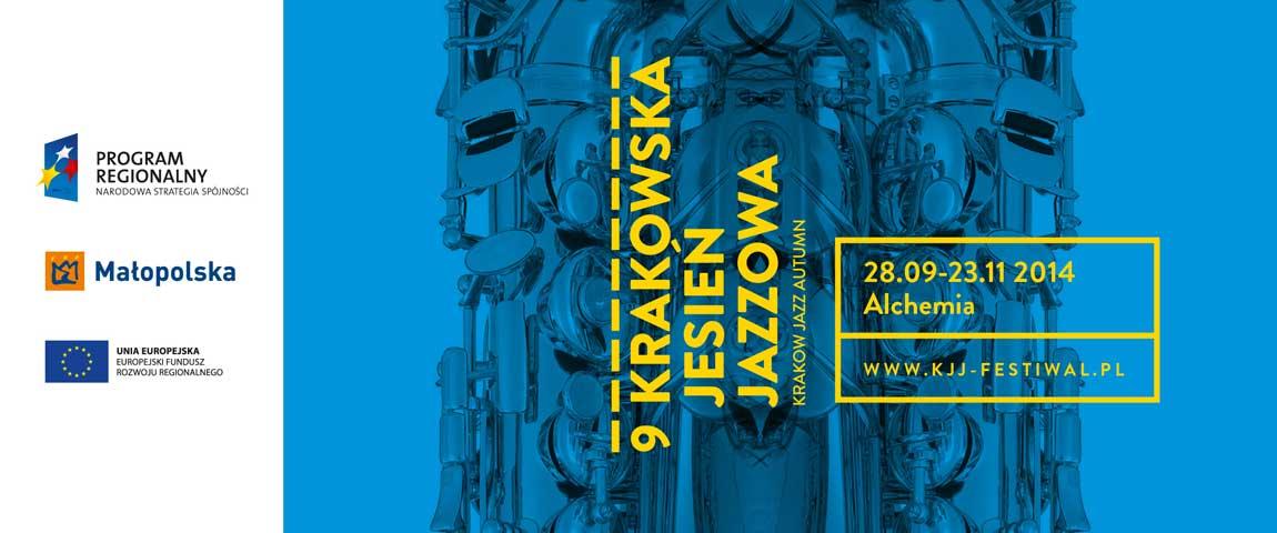9 Krakowska Jesień Jazzowa 28.09-23.11.2014