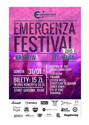 EMERGENZA FESTIVAL POLSKA – RUNDA I (Eliminacje) – KRAKÓW – ALCHEMIA – DZIEŃ 3