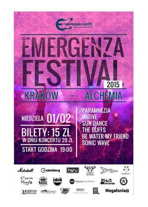 EMERGENZA FESTIVAL POLSKA – RUNDA I (Eliminacje) – KRAKÓW – ALCHEMIA – DZIEŃ 4