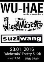WU-HAE, Le Moor, Suzi Wang