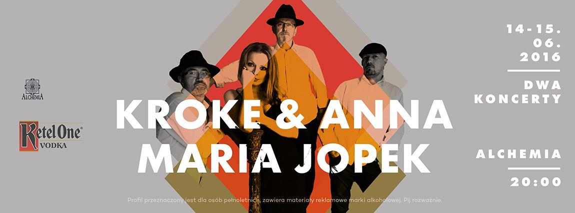 Kroke & Anna Maria Jopek  – dwa koncerty w Alchemii
