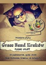 Grass Band Kraków premiera płyty Polski Stuff
