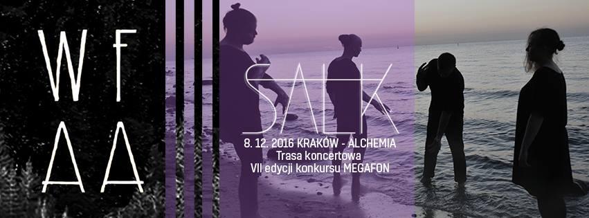 SALK & Waiting For An Audience – VII edycja MEGAFONU Radia Kraków