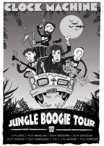 Clock Machine 1.12 & 2.12 II Jungle Boogie Tour II (support Sonbird & Frankenstein Children)