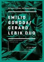 Wydarzenie: Gerard Lebik / Emilio Gordoa Duo – Polska scena improwizowana
