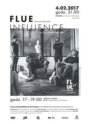 Koncert zespołu FLUE promujący nowy album Influence