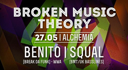 Broken Music Theory vol.40 x Benito & Squal