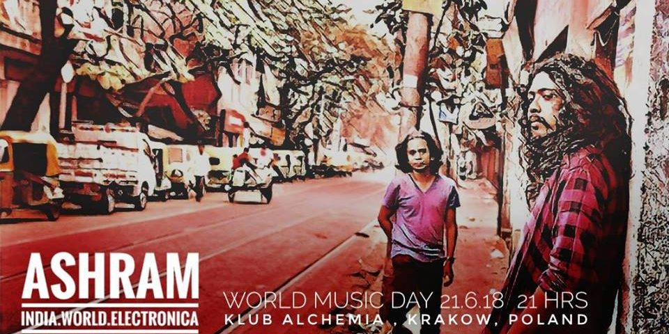 ASHRAM (Indie) +  JAROZ & SOSNA – World Music Day