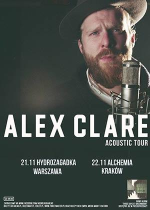 Alex Clare – Support: EQUALS