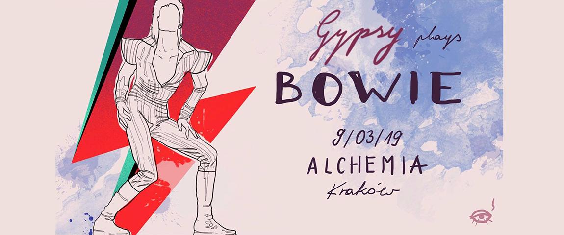 Gypsy plays Bowie @Alchemia (Fundraising Gig)
