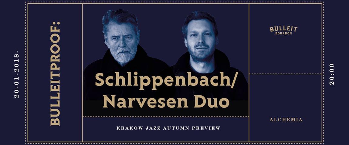 Bulleitproof: 14th KRAKOW JAZZ AUTUMN PREVIEW – Schlippenbach/Narvesen Duo