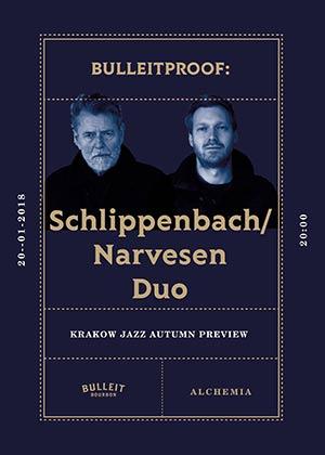 Schlippenbach/Narvesen Duo – Bulleitproof: 14th KRAKOW JAZZ AUTUMN PREVIEW