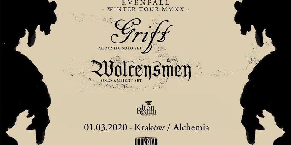 Grift (acoustic solo set) + Wolcensmen