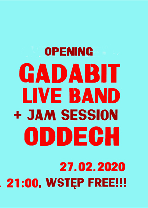 Music Blender – Gadabit – Jam Session / Oddech