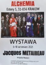 JACQUES METAIREAU – WYSTAWA MALARSTWA